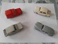 Lot de 4 Voitures Miniature Norev 1/43