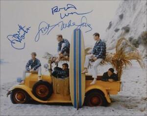 REPRINT - BEACH BOYS Brian Wilson - Mike Love Signed 8 x 10 Photo Poster