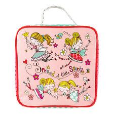 Pink Fairy Lunch Bag - Box Girls School Picnic Handle Wipe Clean Rachel Ellen