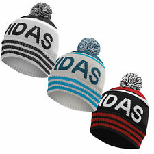 Adidas Golf Men's Pom Beanie Winter Bobble Hat Cap - Pick Color!