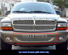 Fits 1997-2004 Dodge Dakota /1998-2003 Durango Bumper Billet Grille Grill Insert