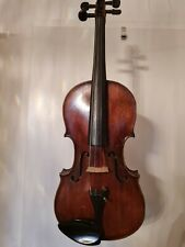 Alte Sächsische Meistergeige old Violin Inschrift. Wilhelm Schlick Dresden 1860