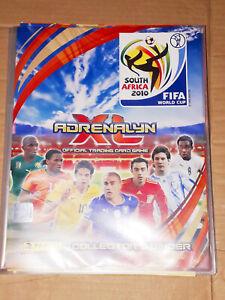 PANINI FIFA ADRENALYN SOUTH AFRICA 2010 WORLD CUP STICKER CARD ALBUM BINDER