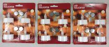 4 - 24 Stück Teelichter flackernde LED Tee Lichter Kerzen Flackerlicht LED Licht