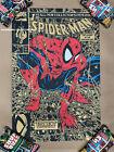 Todd McFarlane Spider-Man #1 GOLD Variant Screen Print Poster LE 90