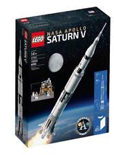 LEGO NASA APOLLO SATURN V 21309 - - Nuovo di Zecca spedizione in tutto il mondo