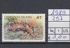 Christmas Islands 1989 serie corrente (V) 297  MNH