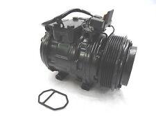 Mercedes 190E 2.3-L4 85-93 A/C Compressor W/ Big Manifold 4 Seasons 57334