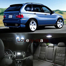 Deluxe 18PCS LED Lights Interior Package White for BMW x5 M E53 2000-2006