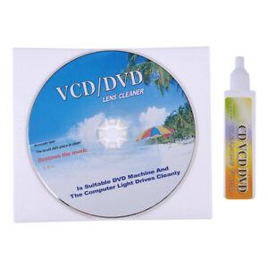 DVD VCD CD CD-Rom Lens Cleaner Rom Player Cleaning Disc Kit New