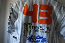 DC Ken Block 43 Monster Pirelli Tee White NWT NEW Medium