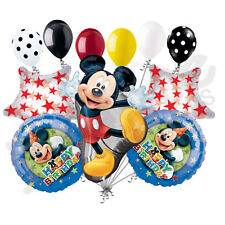 11 pc Mickey Mouse Full Body Balloon Bouquet Party Decoration Happy Birthday