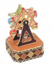 Music Carousel trinket box  LIMITED EDITION  by Keren Kopal -Austrian crystals