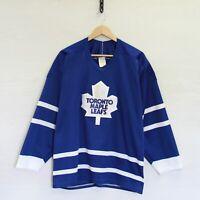 Vintage Doug Gilmour #93 Toronto Maple Leafs CCM Maska Jersey Sz Large 90s NHL