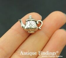 14pcs Teapot Charm Antique Tibetan Silver Charm Pendant SC320