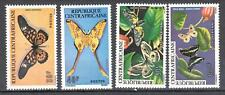 Central Africa 1976 - Butterfly - Mi.413-16 - MNH**