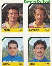 109 LORIERI - BOCCHINO - AMATO - BRINI CARD CARTA CALCIO QUIZ VALLARDI 1991