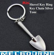 Snuff Scoop Shovel Key Ring Ibiza Spoon Keychain Silver Spade Tool Pendant Herbs