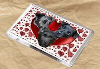 Patterdale Terrier Dog Fridge Magnet 77 x 51m Birthday Gift Mothers Day Gift