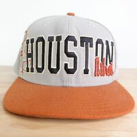 NEW ERA HOUSTON ASTROS SPELL OUT 59FIFTY FITTED MLB BASEBALL HAT 7 1/2