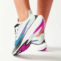 Nike Zoom Gravity Womens Lightweight Running Shoes Gray Blue Purple Black US 8