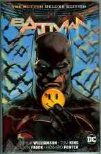 Batman Flash The Button Deluxe Edition Lenticular Hardcover Factory Sealed HC