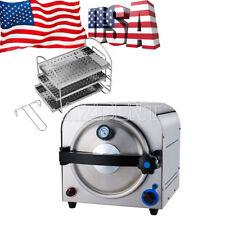 Dental Autoclave Steam Sterilizer Medical sterilization lab equipment 14L AU