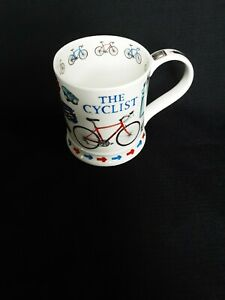The Cyclist Dunoon China Mug BNWOT Excellent