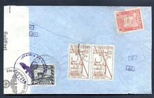 BOLIVIA TO GERMANY LATI Cover Censored WWII