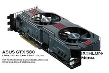 ASUS NVIDIA GeForce GTX 580 (1536 MB) - GRAFIKKARTE - GRAPHIC CARD