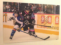 Cale Fleury SIGNED 4x6 photo KOOTENAY ICE / MONTREAL CANADIENS #3