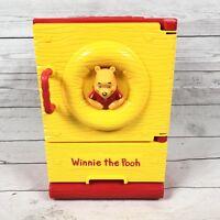 Disney Tomy Winnie the Pooh Refrigerator Toy Miniature Cooler Ice Box Takaratomy