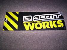 Bike Snowmobile Scott Works Lens Voltage R Goggle Tear Off 10 Pack 205157-223