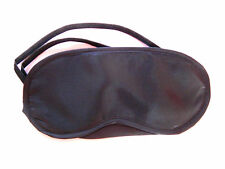 5 Travel sleeping black eye mask, eyemask, blindfold - Cheap ONLY £3.75