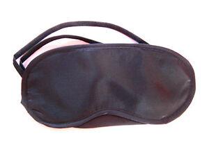 Wholesale 50 or 100 Travel sleeping sleep black eye mask, eyemask, blindfold