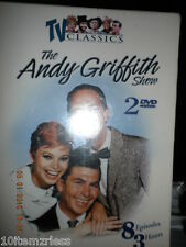 TV Classics:Andy Griffith Show Vol 1 (DVD, 2004) 2 DVD 8 EPISODES