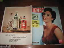 RIVISTA TEMPO 1956/24=ELIZABETH TAYLOR=MARILYN MONROE=MARISA ZOCCHI=KIM NOVAK