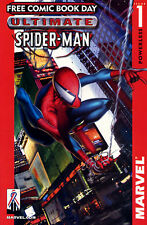 ULTIMATE SPIDER-MAN 1 FREE COMIC BOOK DAY 2002 No Store Stamp SpiderMan Bendis
