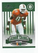 2008 Donruss Classics Old School Colors #16 Reggie Wayne Colts Miami /1000
