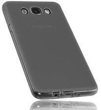 mumbi Hülle für Samsung Galaxy J7 2016 Schutzhülle Case Cover Tasche Schutz grau