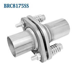 """1 3/4"""" 1.75"""" Exhaust Flange Pipe Repair Spherical Joint for Toyota Honda Chevy"""