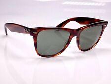 Vintage 1980's B&L Ray Ban Wayfarer II, L1725, 54mm Lens, Sunglasses & Case