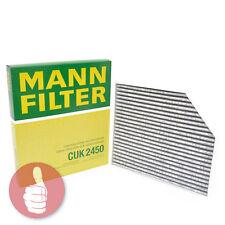 MANN-FILTER Pollenfilter mit Aktivkohle CUK 2450 Audi A4 B8 A5 Q5 Porsche Macan