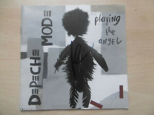 """Andy Fletscher Autogramm signed Booklet """"Depeche Mode - Playing The Angel """""""