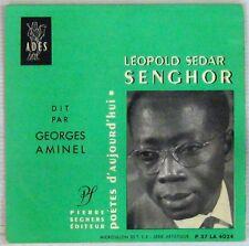 Sedar Senghor dit par Georges Aminel Pierre Seghers