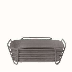 "Blomus Delara Basket Sharkskin (Grey) Large 10"" - 64073"