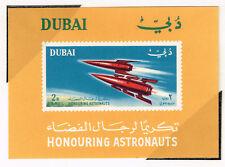 Dubai Space Exploration History Souvenir Sheet 1966 MNH