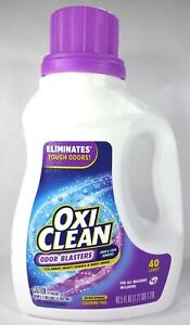 Oxi Clean Odor Blasters And Stain Remover Liquid Laundry Additive, 40.5 fl oz