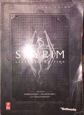 THE ELDER SCROLLS IV SKYRIM PRIMA OFFICIAL LEGENDARY STRATEGY GAME GUIDE