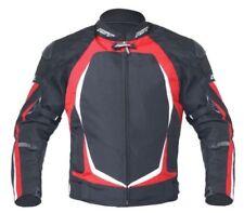 Blousons rouge rouge doublure pour motocyclette